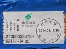Postage meter Royalty Free Stock Image