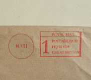 Postage meter Stock Images