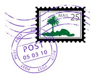 Postage stamp Stock Photos