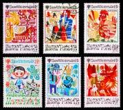 Postage stamp Stock Photos