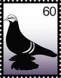 Postage stamp 60 Stock Image