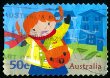 Postage stamp. AUSTRALIA - CIRCA 2006: stamp printed by Australia, shows Kate Waving, circa 2006 Stock Photography