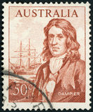 Postage stamp - Australia. Dampier - high quality Royalty Free Stock Image