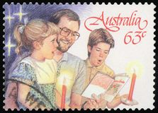 Postage stamp - Australia stock illustration