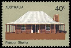 Postage stamp - Australia Royalty Free Stock Images