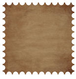 Postage stamp border Stock Photos