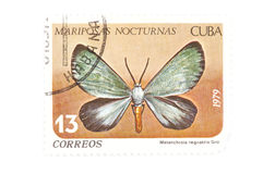 Postage stamp butterfly close up Stock Photos