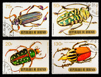 The Postage Stamp Royalty Free Stock Photos