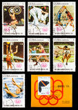 The Postage Stamp Royalty Free Stock Photo