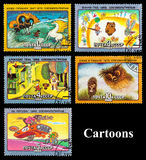 The Postage Stamp Royalty Free Stock Image