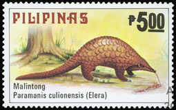 Postage Stamp - Filipinas Stock Images