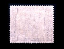 Postage stamp frame Royalty Free Stock Photos