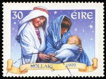 Postage Stamp - Ireland. High resolution Stock Photos