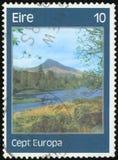 Postage stamp - Ireland Stock Images