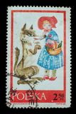Postage Stamp isolated Royalty Free Stock Photo