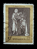 Postage Stamp isolated Royalty Free Stock Photography