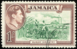 Postage stamp - Jamaica. High quality Stock Photos