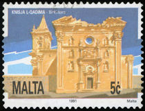 Postage stamp - Malta Royalty Free Stock Images