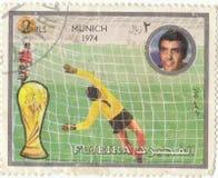 Postage stamp `Munich`. Retro postage stamp `Munich` 1974 Stock Image