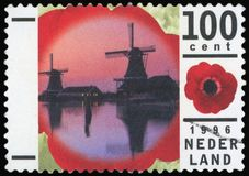Free Postage Stamp - Nederland Stock Photos - 99908923