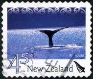 Postage stamp - New Zealand. Kaikoura stock images