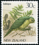 Postage stamp - New Zealand stock images