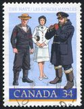 Postage stamp printed by Canada Royalty Free Stock Photo