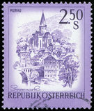 Postage stamp - Republic Osterreich Stock Images
