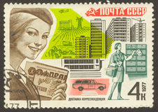 Postage stamp Stock Photography