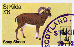 Postage Stamp - Scotland Stock Photography