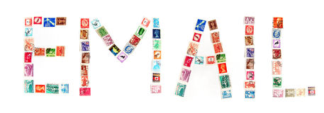 Postage stamp still life royalty free stock images