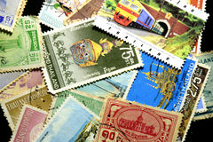Postage stamp Thailand. Vintage Postage Stamp of Thailand   background Royalty Free Stock Photos