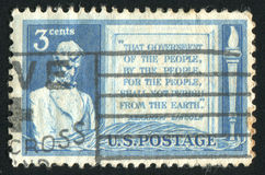 Postage stamp Royalty Free Stock Photography
