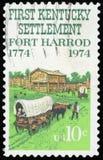 Postage stamp - USA royalty free stock image
