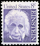 Postage stamp - USA. US Postage stamp - Albert Einstein Stock Photo