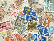 Postage stamps. Stock Image