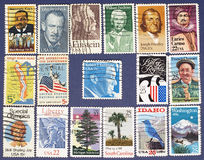 Postage stamps. Stock Photography