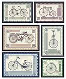 Postage stamps Royalty Free Stock Photos