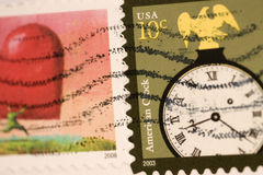 Postage Stamps Stock Photography