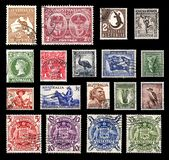 Postage stamps from Australia Stock Photo