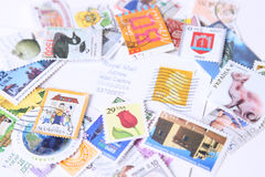 Postage stamps Stock Photos