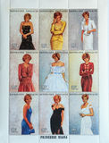 Postage stamps _Princess Diana Stock Images