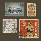 Postage stamps 1 Royalty Free Stock Images