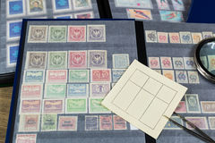 Postage stamps - stamp collection. Royalty Free Stock Photos