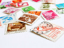 Postage stamps world Stock Photography