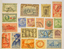 Postage stamps worldwide. Stock Images