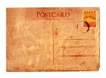 Postal 02 de la vendimia (con el sello) fotos de archivo libres de regalías