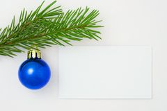 Postal 11 de Navidad Imagen de archivo libre de regalías