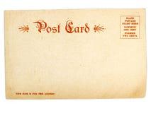 Postal Imagen de archivo libre de regalías