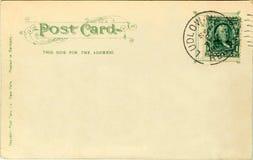 Postal - 1907 Fotos de archivo libres de regalías